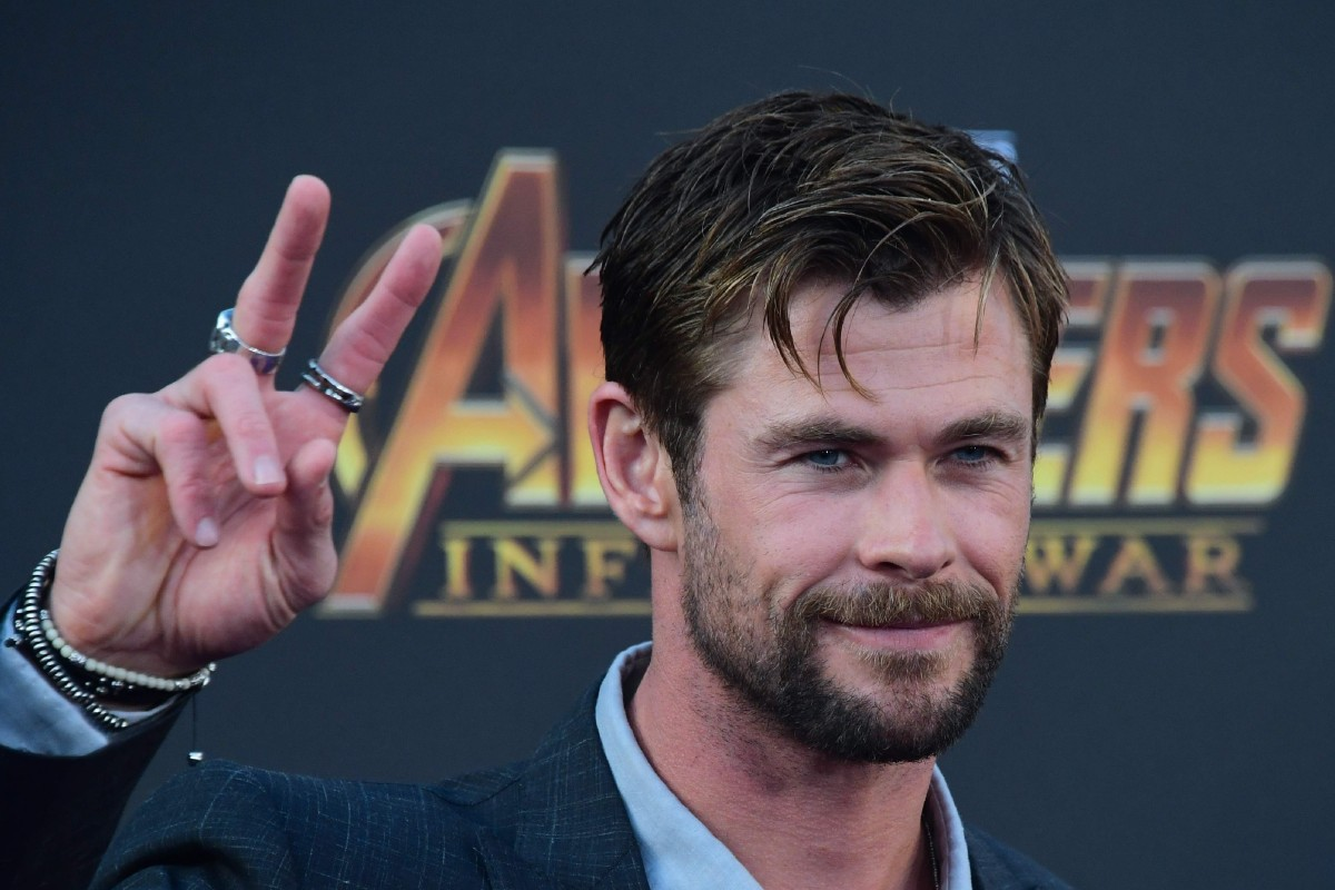 f2707bd7bc0 Thor actor Chris Hemsworth arriving for the world premiere of Avengers:  Infinity War in Hollywood