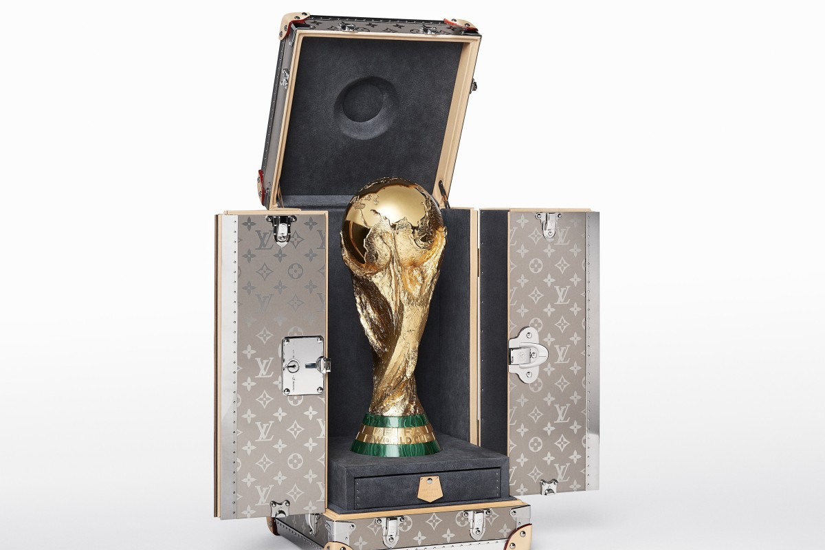 5164d7cf1f6d5d Stylish trunk for FIFA World Cup Russia trophy is released by Louis Vuitton  | South China Morning Post