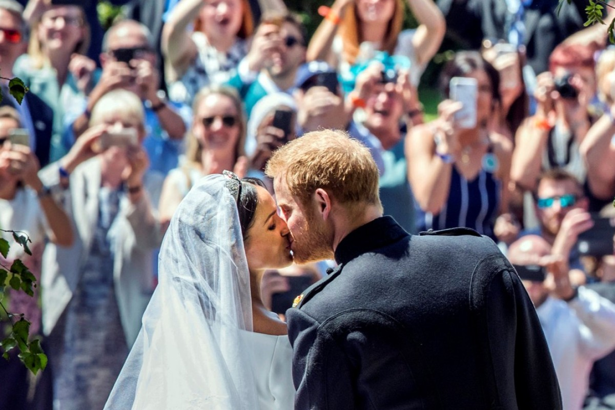 Millions watch as Prince Harry and Meghan Markle say 'I do' at star