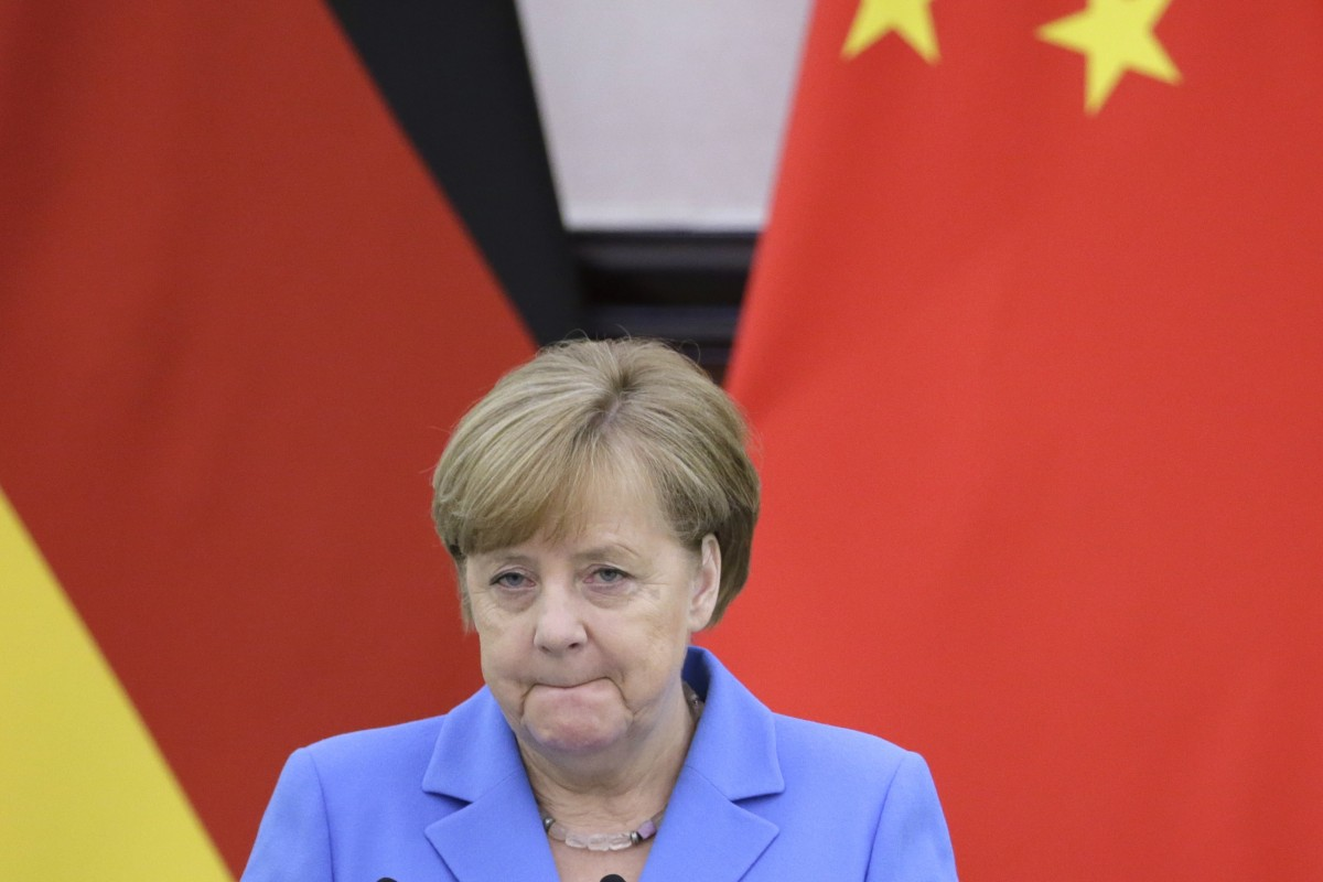 How Angela Merkel's 'gift' of goodwill could boost Beijing