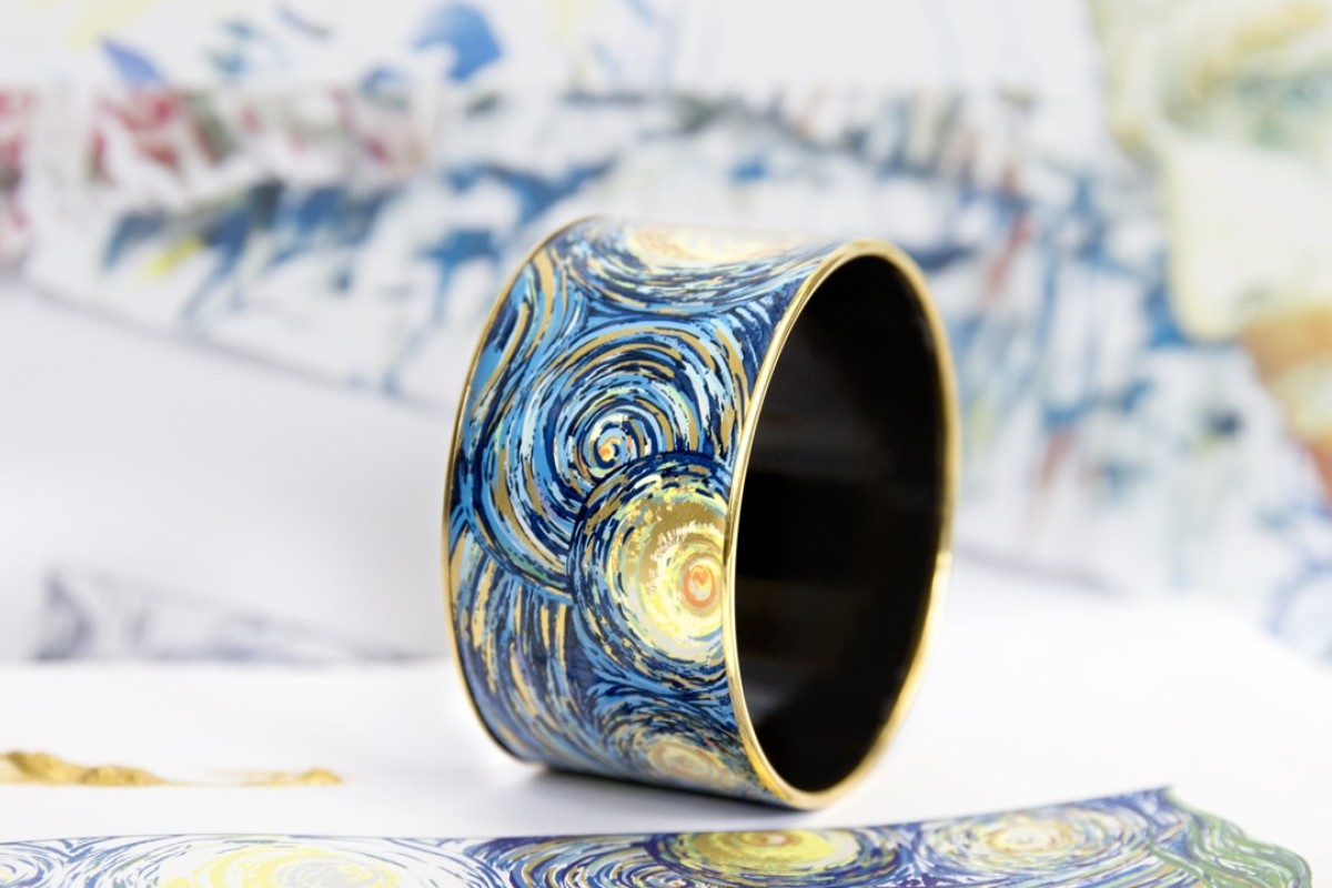 Dutch painter Van Gogh inspires FREYWILLE's new enamel jewellery