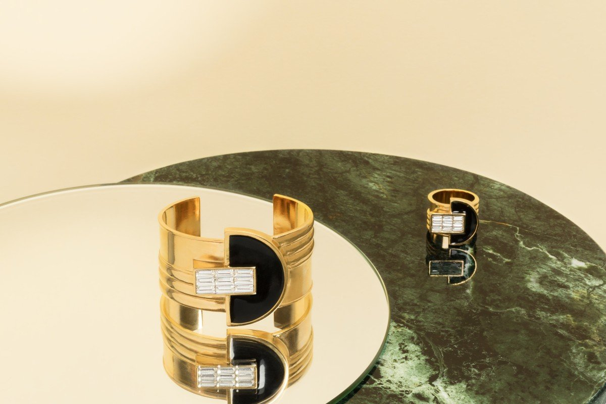 Paris jewellery brand designs sustainable jewellery with an art-deco