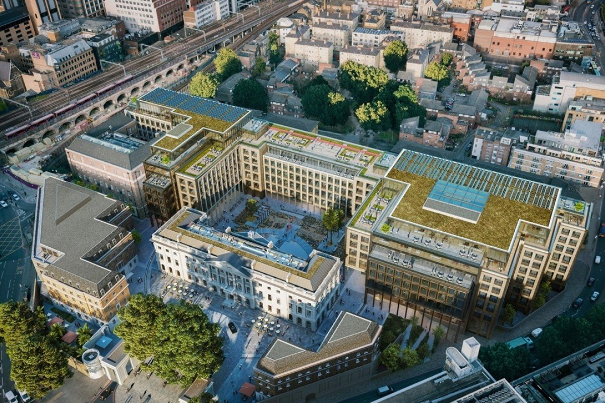With landmark UK embassy planned for East London, China