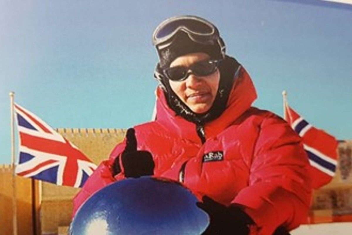 Malaysia's ice queen Sharifah Mazlina heads back to South Pole – and