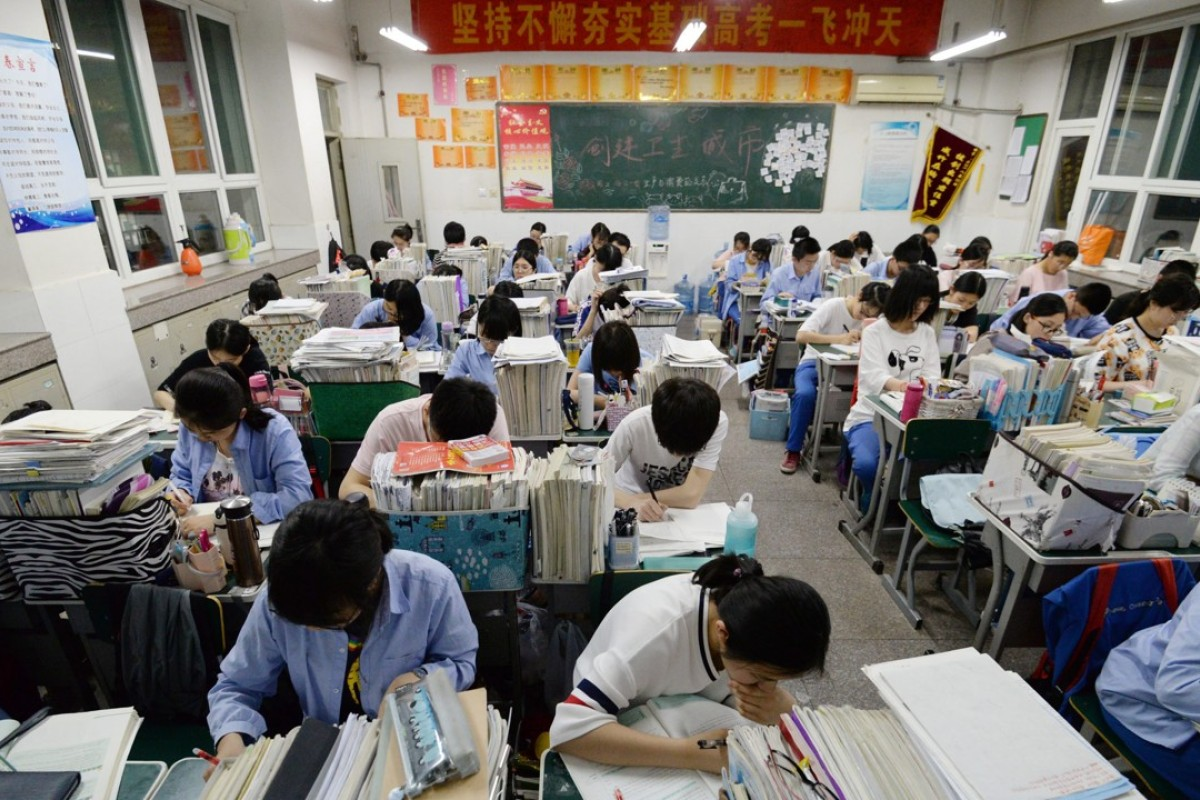 China's Generation Z gaokao candidates shrug off college entrance