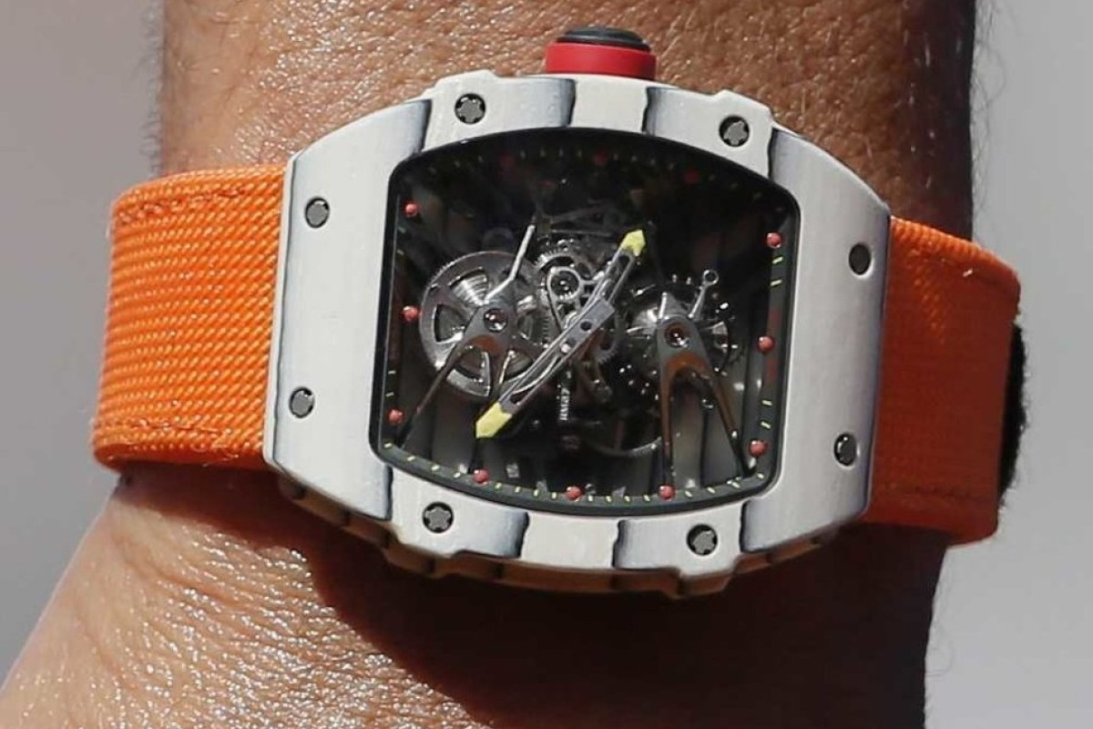 Muscle Cramp Puts Rafael Nadal S Us 725 000 Richard Mille Watch In Spotlight South China Morning Post