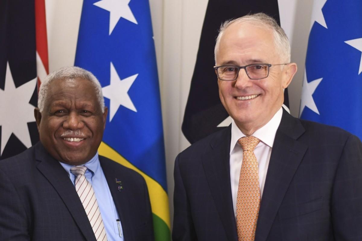 Solomon Islands drops Chinese tech giant Huawei for billion