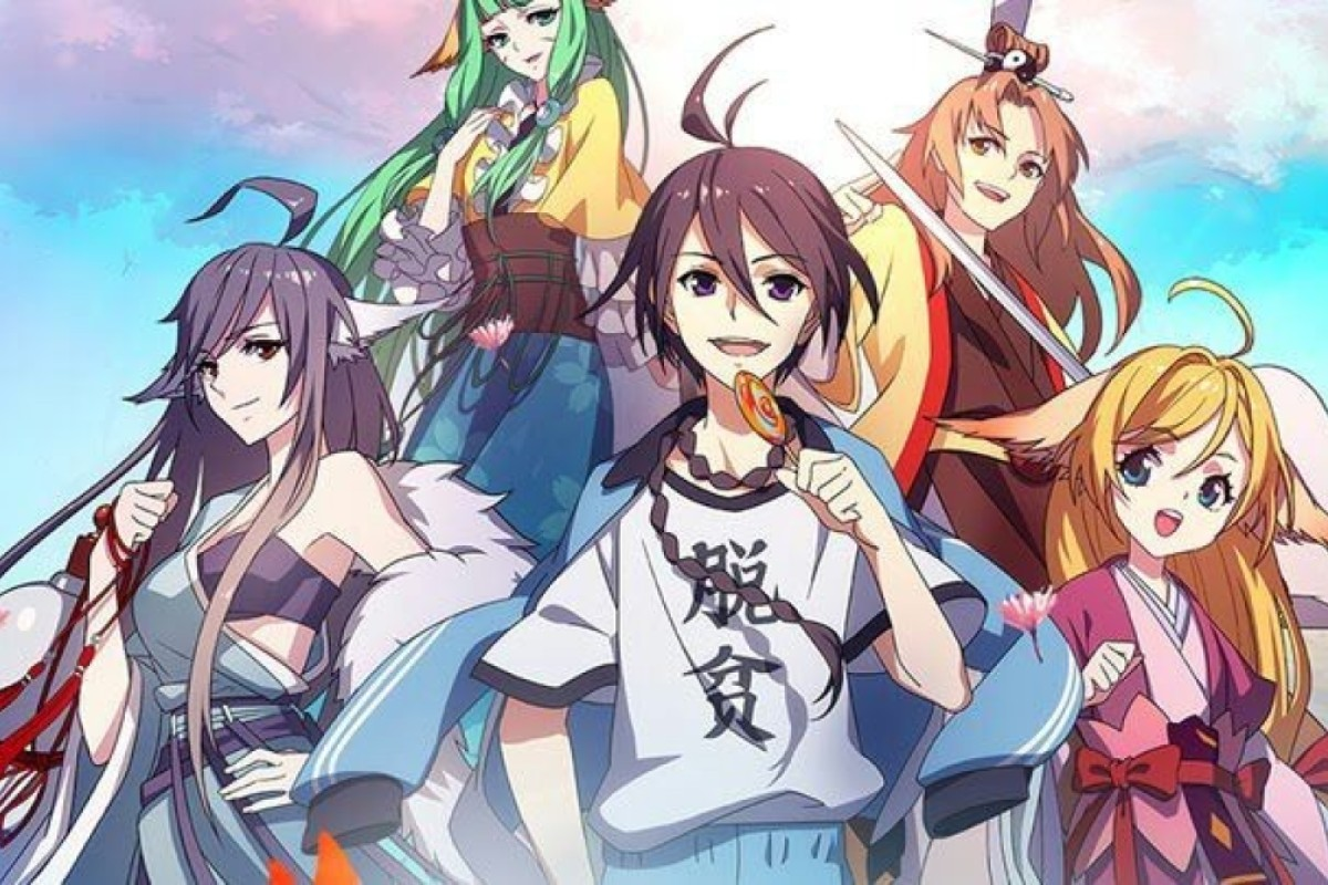 Anime Girl Growth chinese anime rising as country's tech giants engage in
