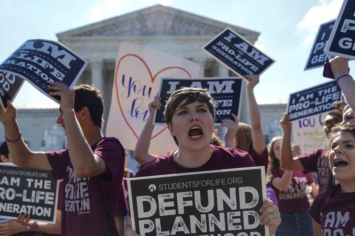 US Supreme Court blocks California law forcing anti-abortion