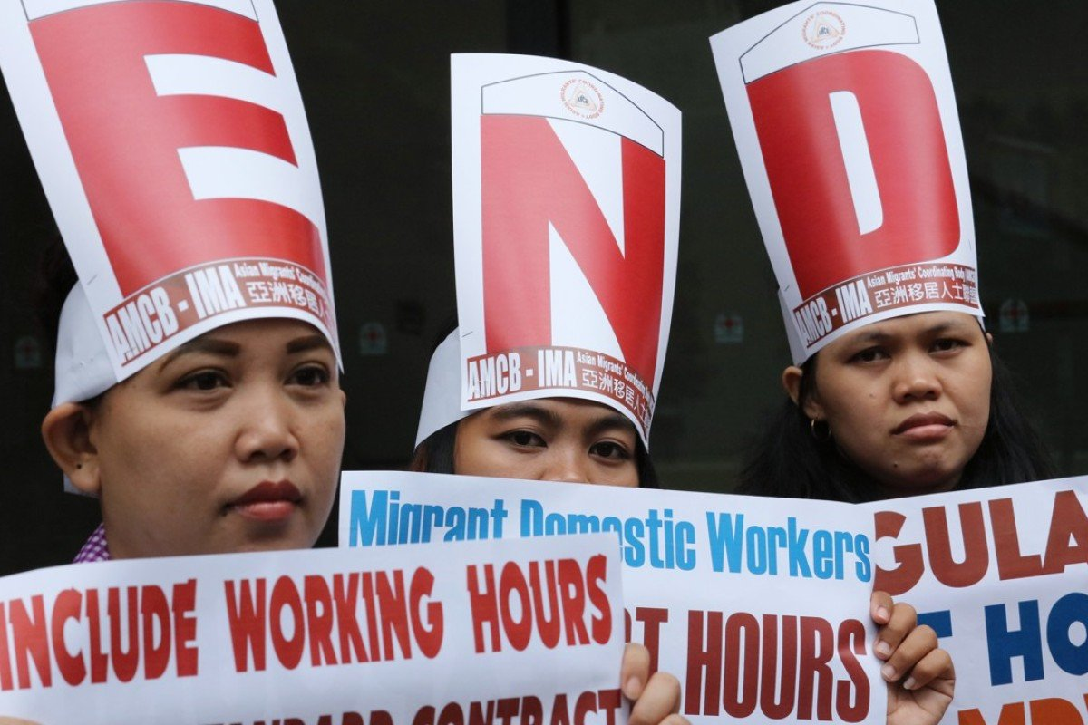 Goodbye debt: helping domestic helpers escape modern slavery