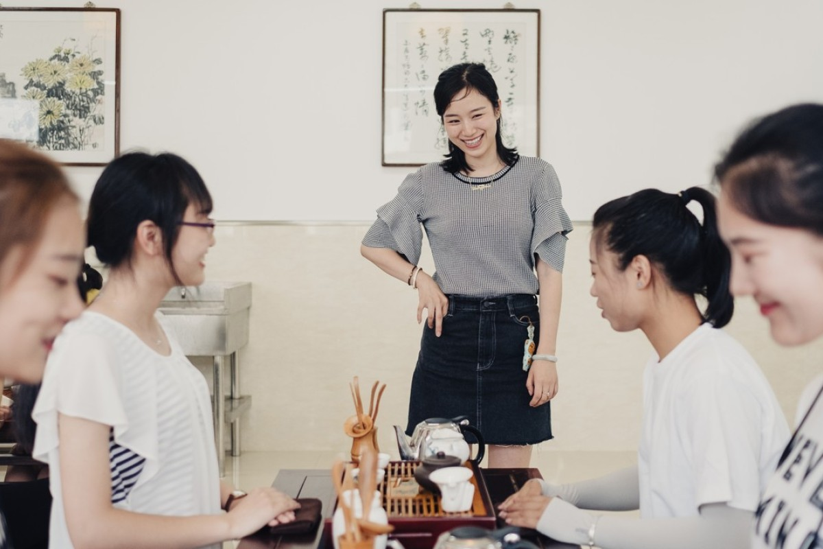 Chinese college teaching women to be 'perfect' in the Xi