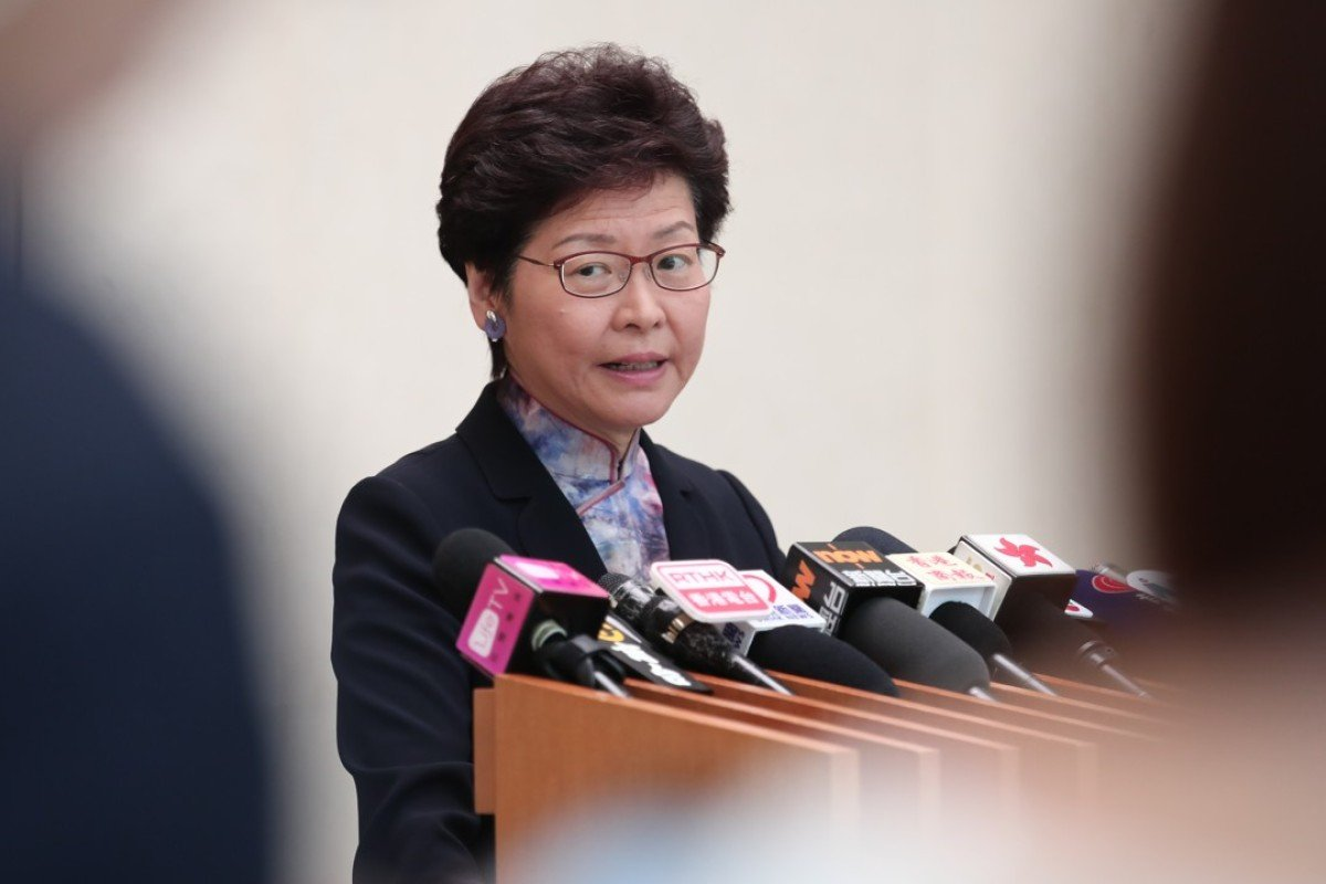 Questions For Eric London Alternative >> Hong Kong Leader Carrie Lam Apologises For Causing Confusion In