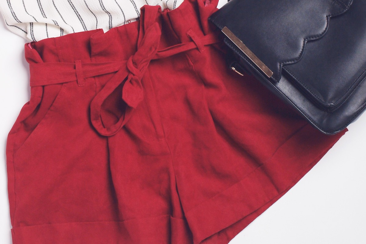a110eb24027c4 From Alexander McQueen to Uniqlo, paperbag-waist shorts are this season's  must have