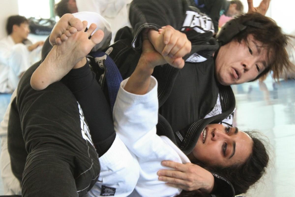 As Brazilian jiu-jitsu in South Korea grows, women are