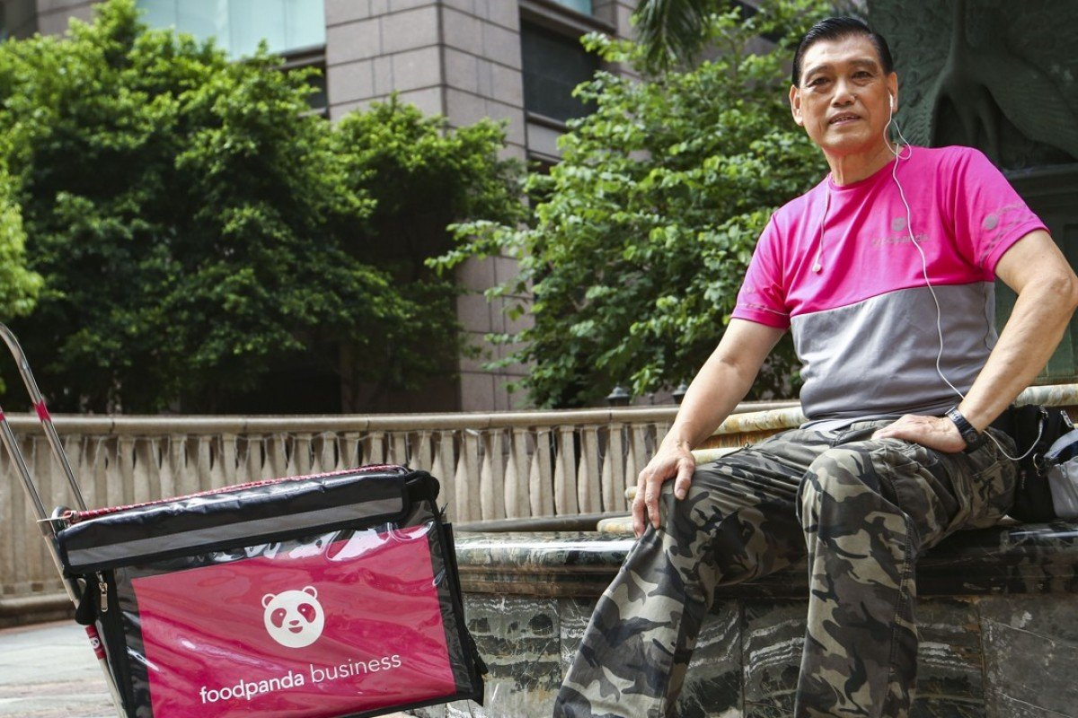 Seniors find new lease of life as Foodpanda and Uber Eats delivery