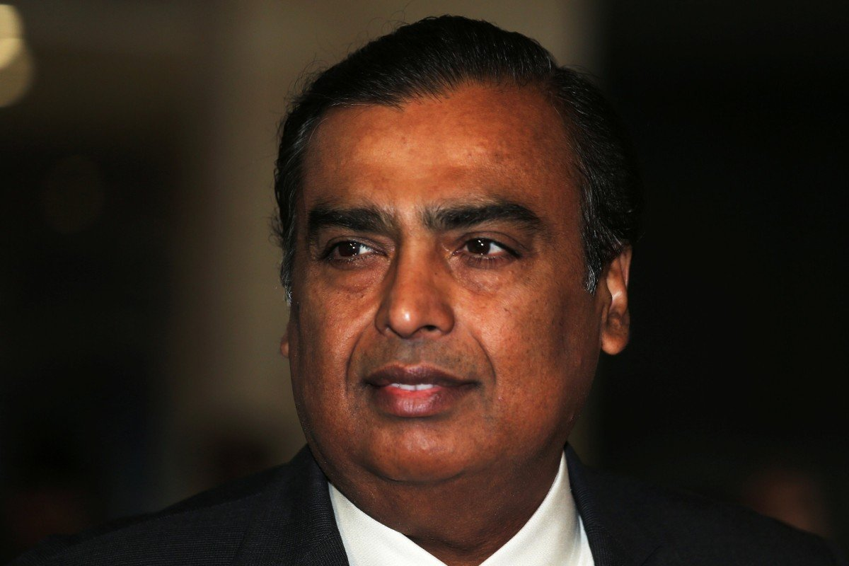 Indian business magnate Mukesh Ambani topples Jack Ma as Asia's