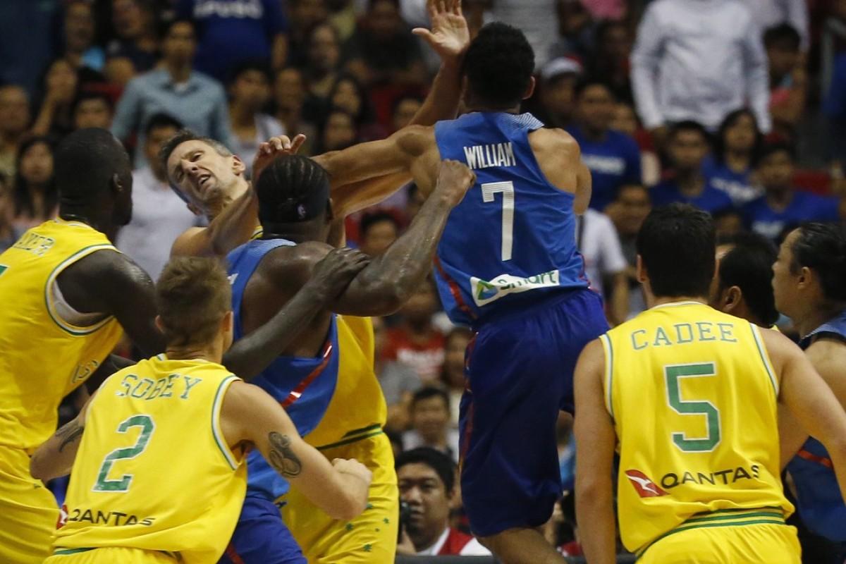 Fiba decision on Philippines v Australia brawl: 13