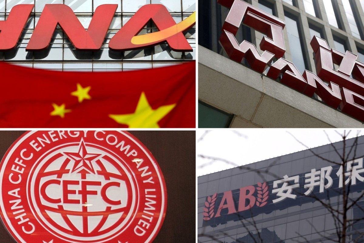 Fall from grace: China's acquisitive conglomerates under a cloud