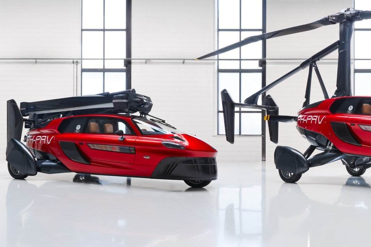 World's first flying car, a two-seater Pal-V Liberty, on track for 2020  launch | South China Morning Post