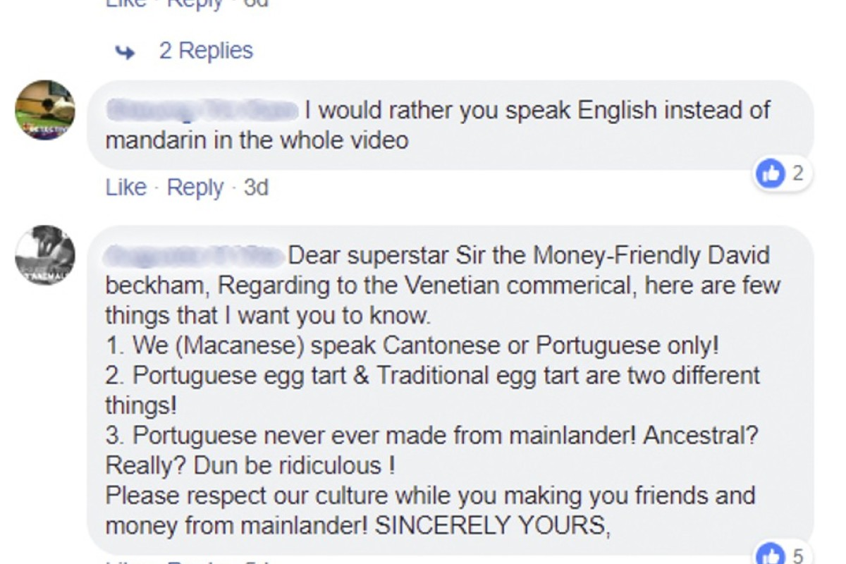 David Beckham faces backlash for speaking Mandarin in micro