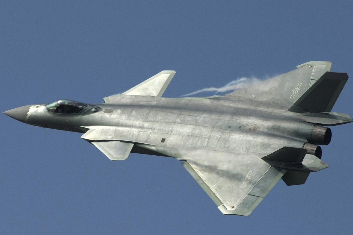 e74d82df8 China's J-20 stealth fighter in action at an air show in Guangdong province  in