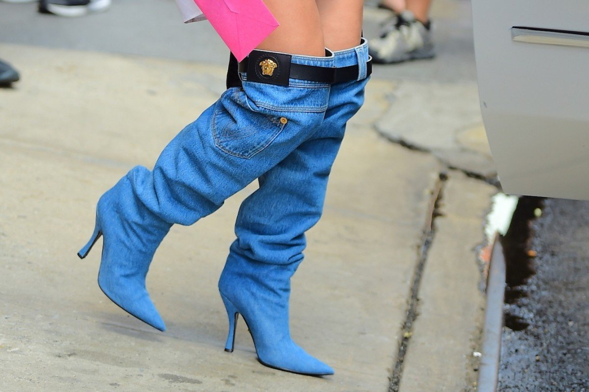 Jennifer Lopez S Versace Jeans Boots Or Joots Have Got Everyone Talking But Would You Wear Them South China Morning Post