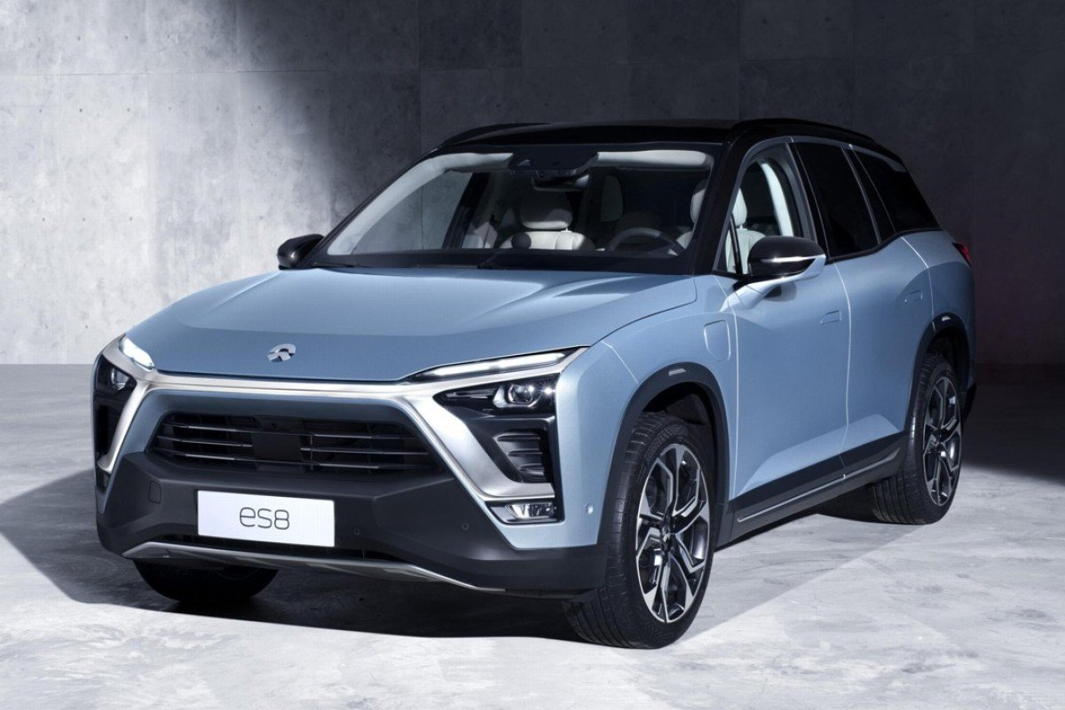 Nio Released Its First Production Model Es8 Last December The High Performance Sports Utility