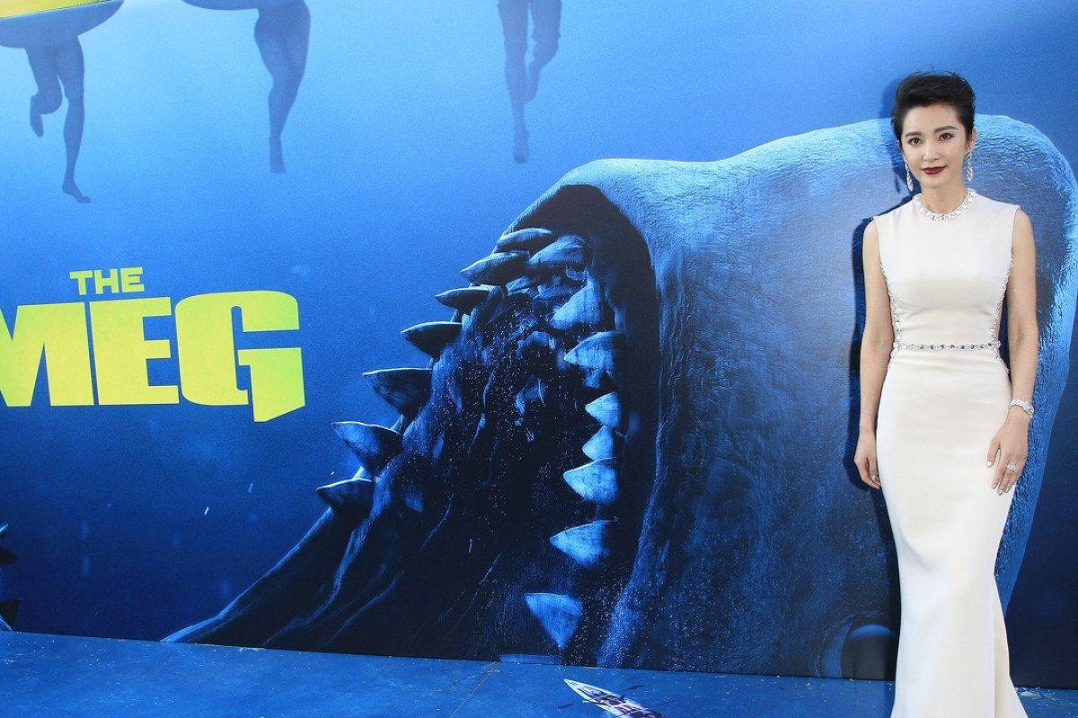 """Chinese actress Li Bingbing attends the US premiere of """"The Meg""""at the TCL"""