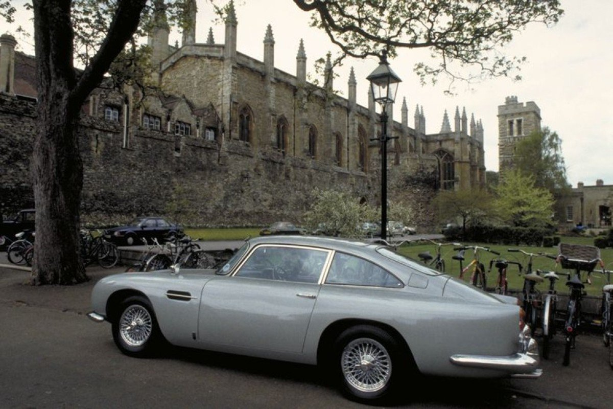 Yes, you can own new Aston Martin DB5     as James Bond car