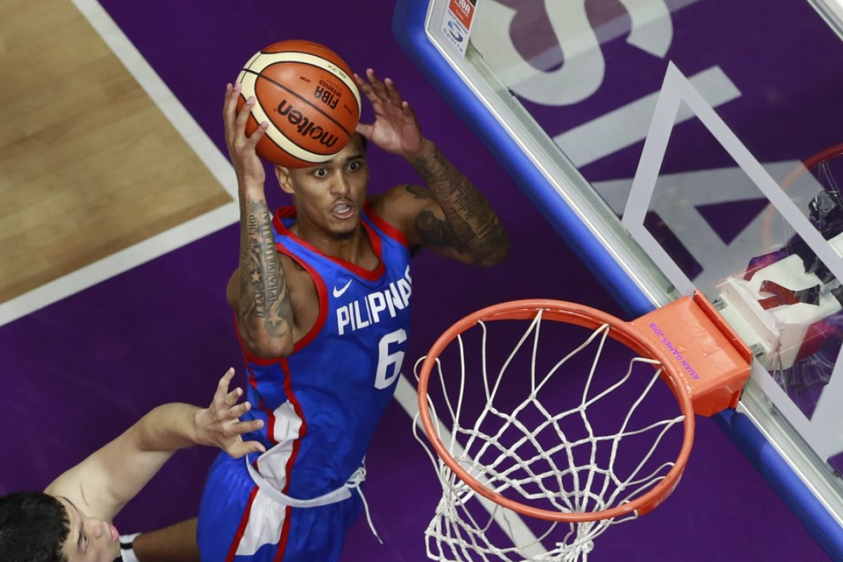 03a4a2711229 Philippines won their game against Japan thanks largely to Jordan Clarkson.  Photo  AP