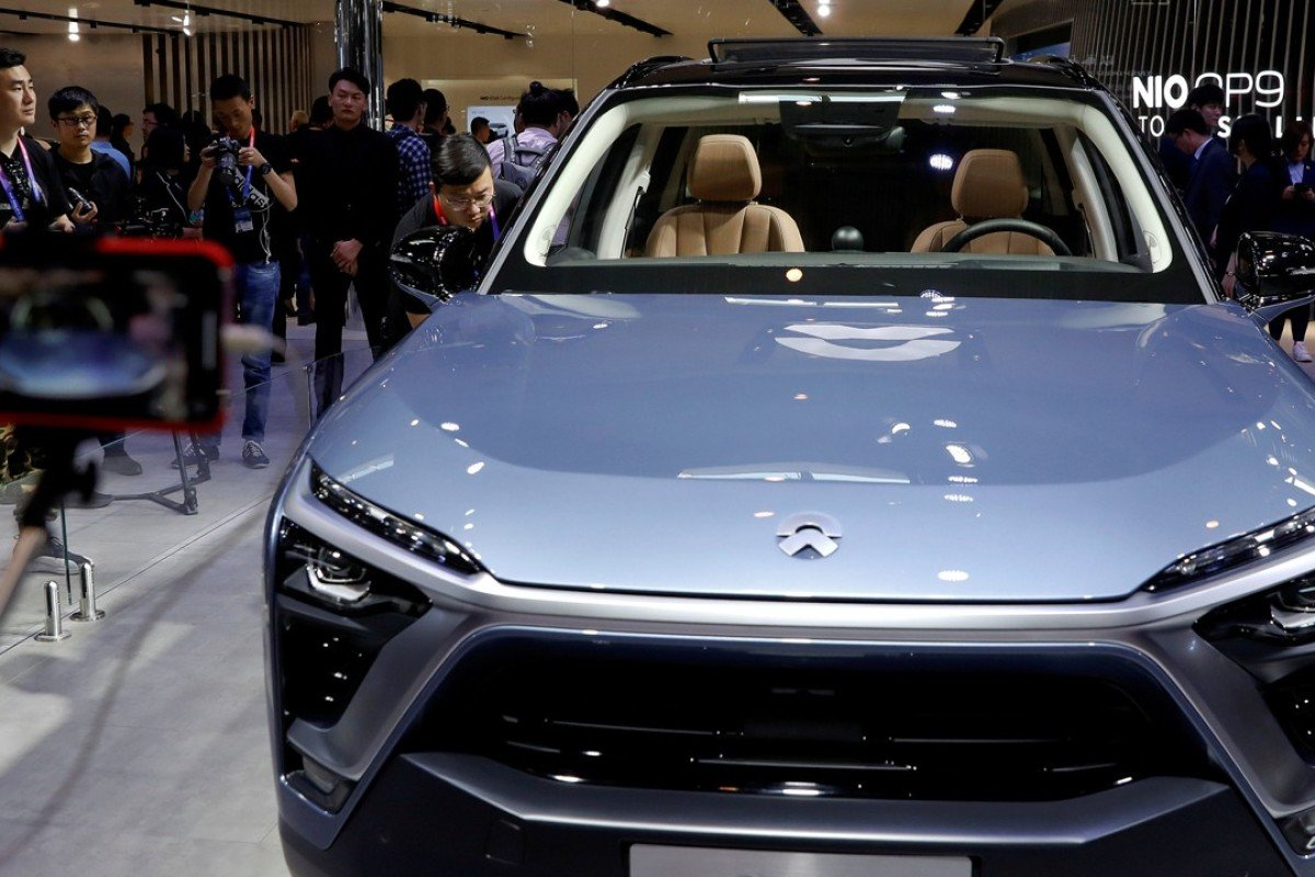 Chinese EV maker NIO steps on the accelerator to seek US