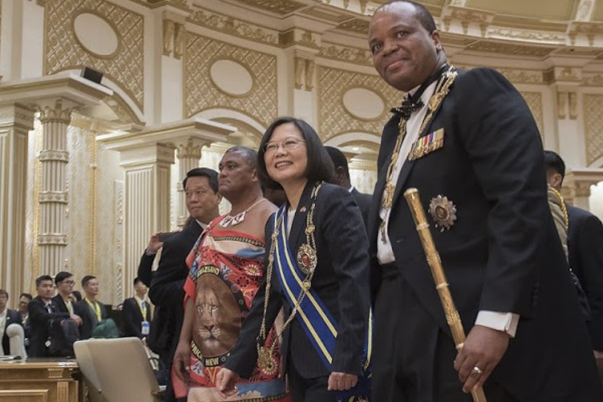 Beijing Ups Pressure On Eswatini But Taiwans Last African