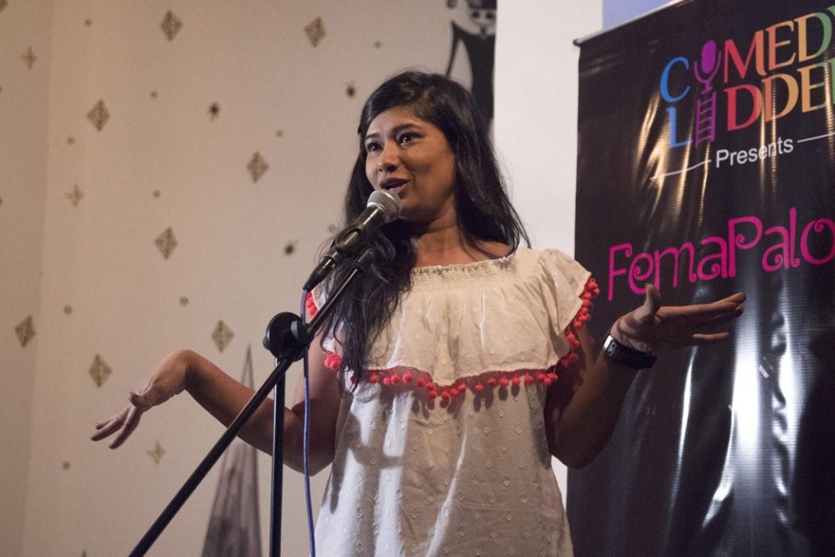 India's women-only comedy show Femapalooza tackles breasts