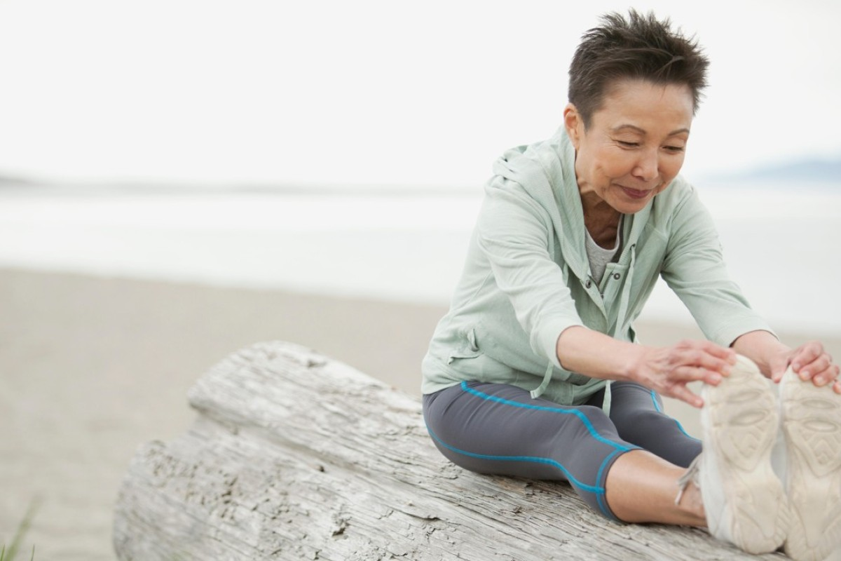 The benefits of stretching, even if you don't exercise afterwards: better circulation, more flexibility