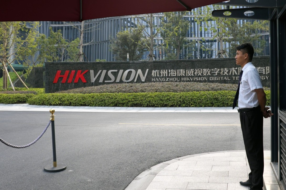 Chinese surveillance camera makers Hikvision, Dahua fall on