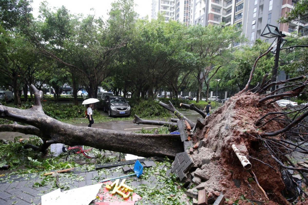 Typhoon Mangkhut: four dead in southern China, residents warned to