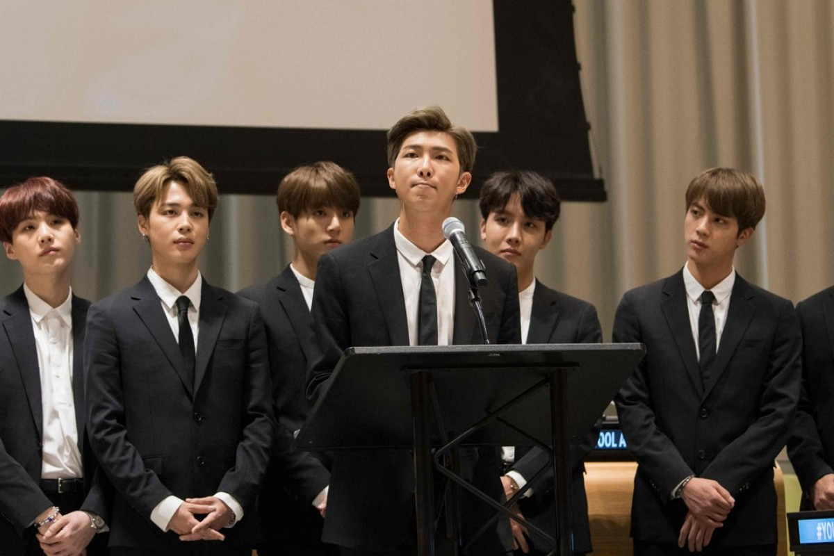 K-pop stars BTS speak at the UN, spreading their message of peace