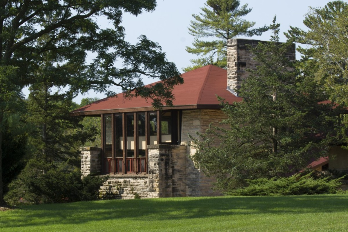 Frank Lloyd Wright's Taliesin estate survived fire and murder to