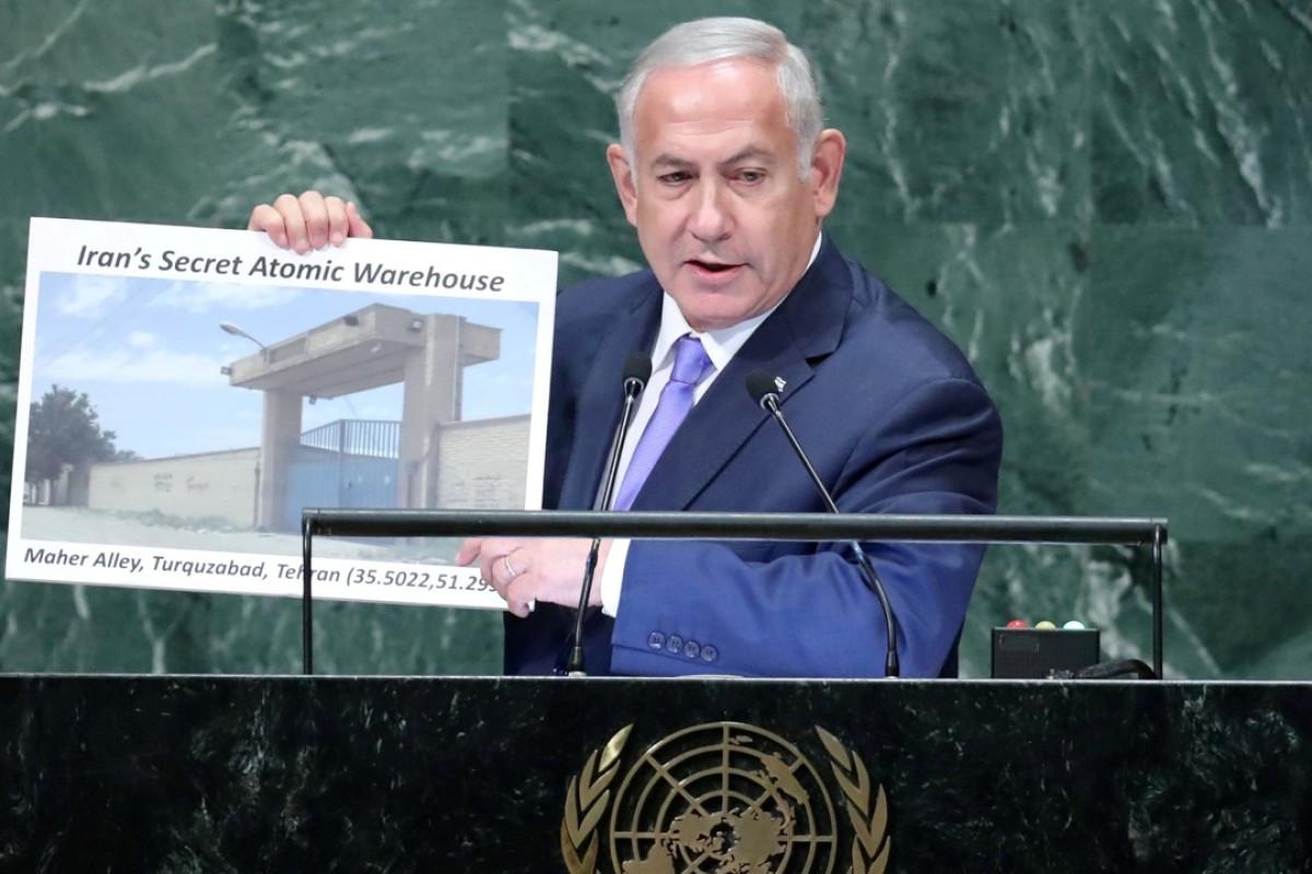 Netanyahu claims Israel has found Iran's 'secret atomic warehouse