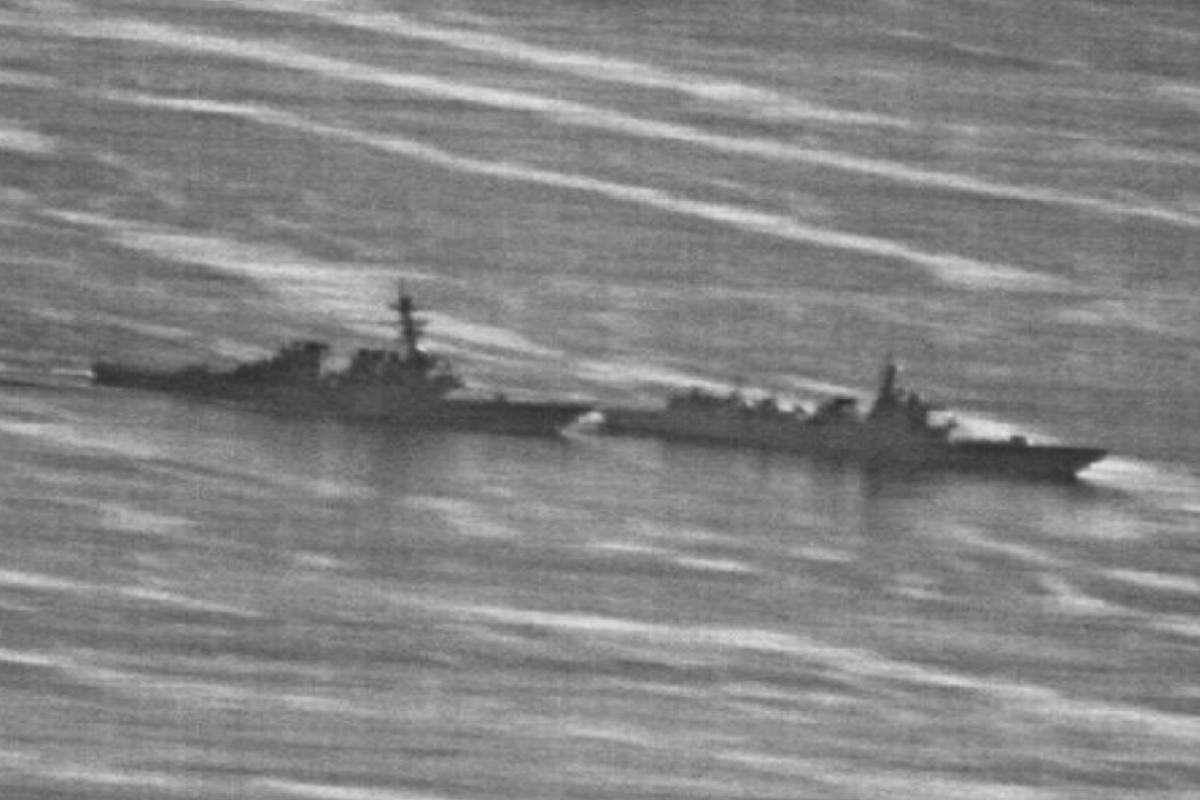 US, Chinese warships within metres of collision in South