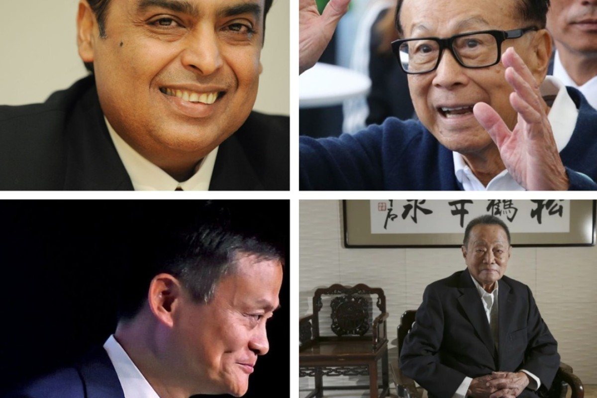 10 billionaire tycoons helping to propel Asia's growing success