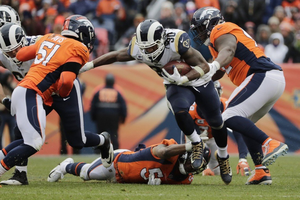 fa3017ce NFL round-up, week six: Todd Gurley tops 200 yards as Los Angeles ...