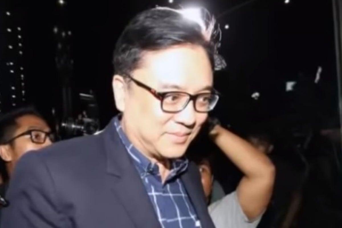 Government raids and arrest of Lippo executive in bribery probe