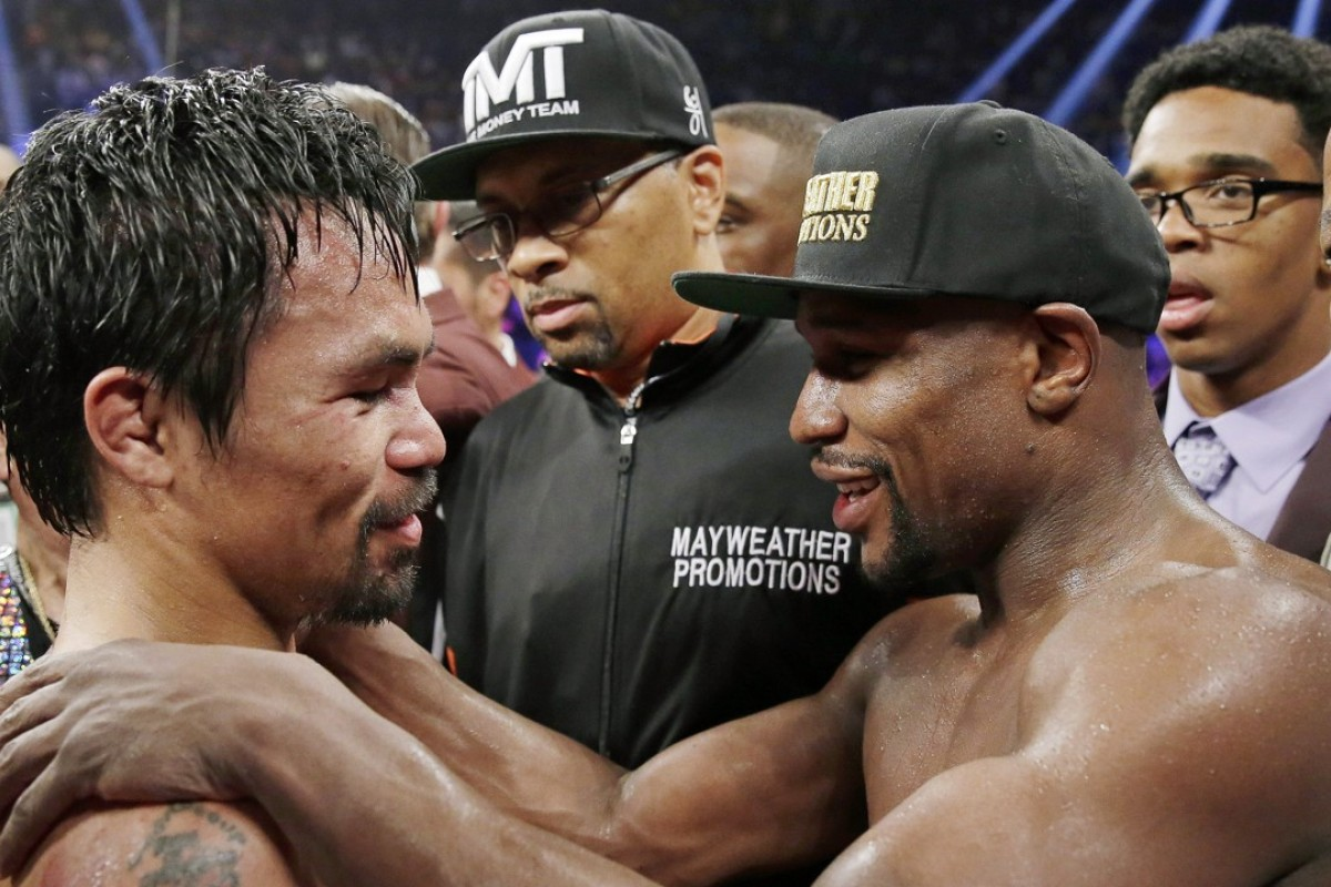 Image result for Mayweather Le Pacquiao