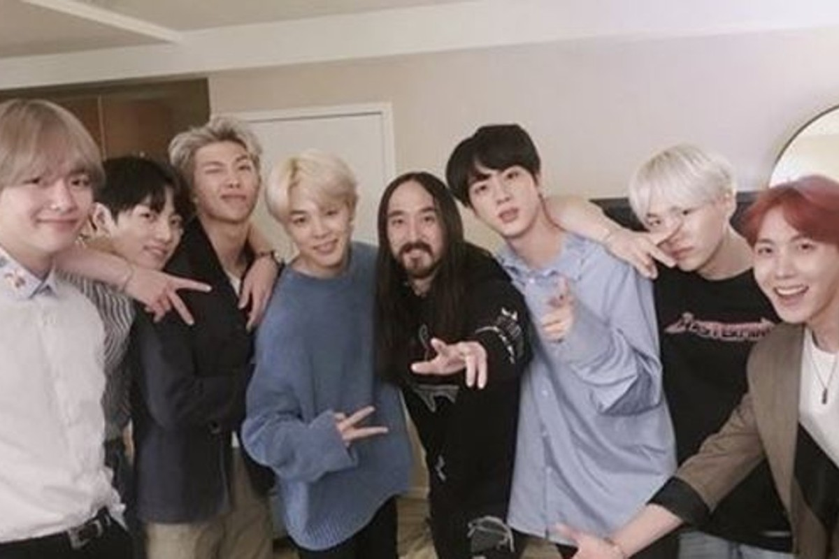 K Pop Boy Band Bts Teams Up With American Dj Steve Aoki On His New