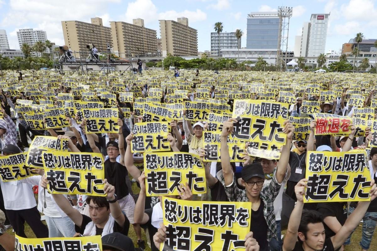 Okinawa will hold referendum on polarising plan to relocate US military base