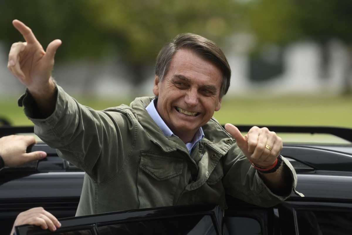 Incoming Brazilian President Jair Bolsonaro could bring uncertainty to his country's relations with China. Photo: AFP