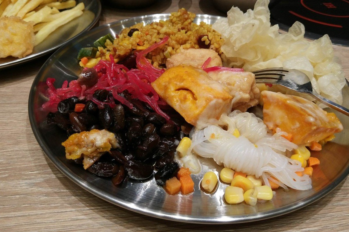 Miraculous Vegetarian Korean Buffet And Diy Bibimbap At Bobsang In Download Free Architecture Designs Lectubocepmadebymaigaardcom