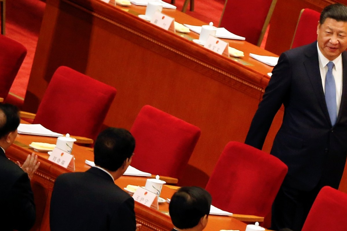 The biggest story in Chinese politics right now' – silence