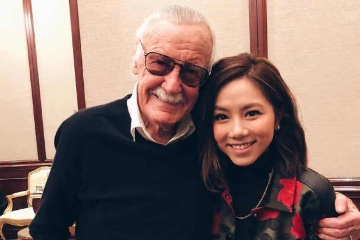 Marvel Creator Stan Lee S Last Superhero Is Based On Chinese Pop Star G E M South China Morning Post